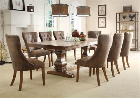 homelegance louise 9 expandable trestle homelegance 2526 96 louise dining table set on sale