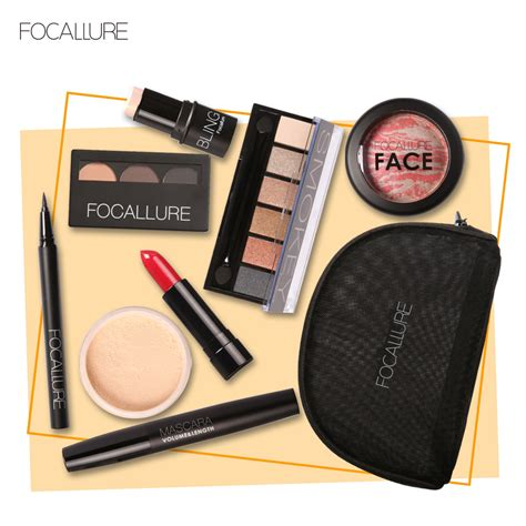Makeup Focallure focallure makup tool kit 8 pcs must cosmetics