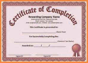 doc 570445 5 free blank certificate templates for word