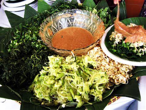 nasi pecel zona indonesia