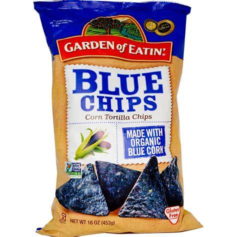 Garden Of Blue Chips Garden Of Eatin Corn Tortilla Chips Blue Chips 16 Oz