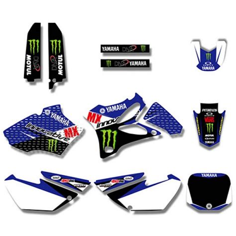 Yamaha Yz 85 Aufkleber by Monster Power Graphics Decals Kit For Yamaha Yz85 2002