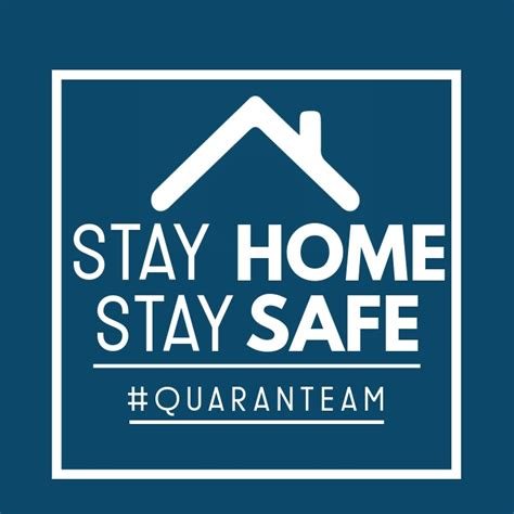 stay home stay safe template postermywall