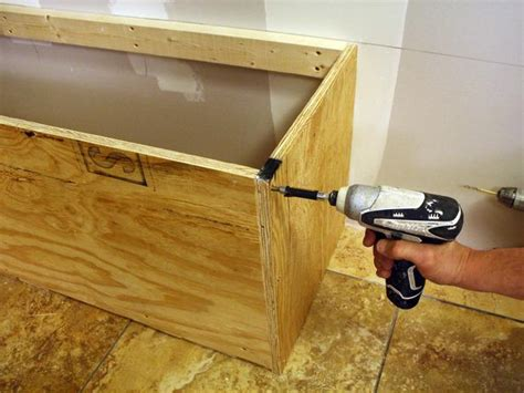 building a bench with storage pdf woodwork storage bench seat plans download diy plans