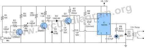 sound activated light switch schematic diagram of light activated switch efcaviation com
