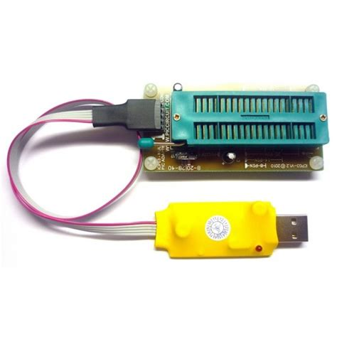 Usb Programer ica01 usb microchip pic programmer set with adapter icsp pickit 2 sw