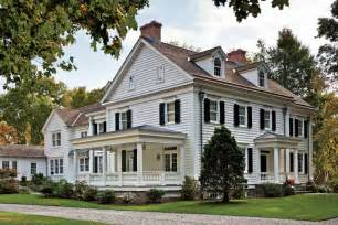 New England Farmhouse Plans by An Elegant New England Federal Old House Online Old