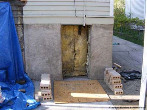 Shed Basement by Attached Shed Basement Entrance Freedom Builders