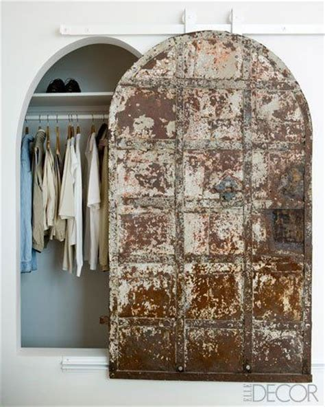 French Cellar Door Upcycled Into An Arched Sliding Barn Arched Barn Door