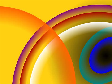 abstract circles backgrounds presnetation ppt