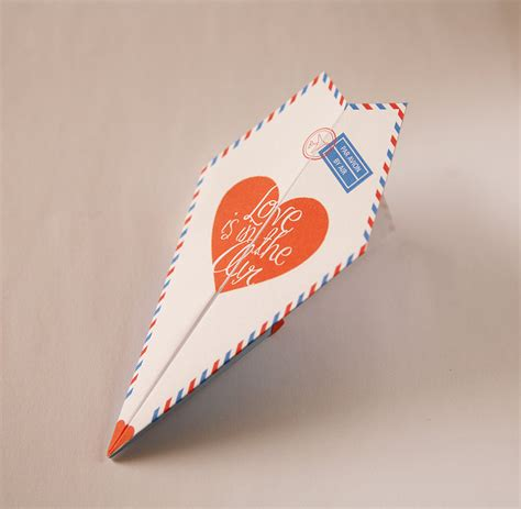 aeroplane template for birthday card printable paper airplane valentines anniversary card