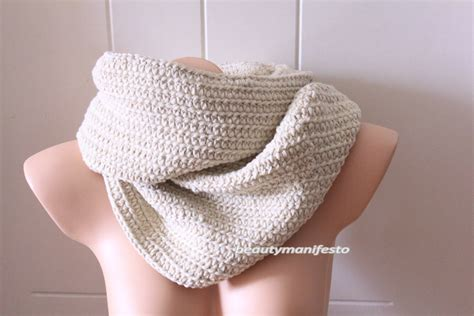 white infinity scarf soft white infinity scarf chunky scarf in