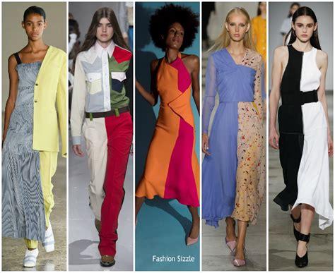 half trend spring 2018 runway fashion trend half half fashionsizzle
