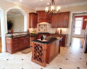 This particular kitchen island offers some wonderful storage and