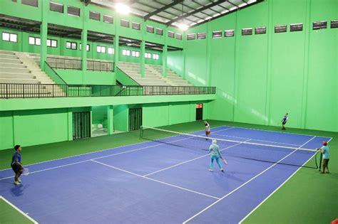 kota bogor segera miliki lapangan indoor tenis berstandar