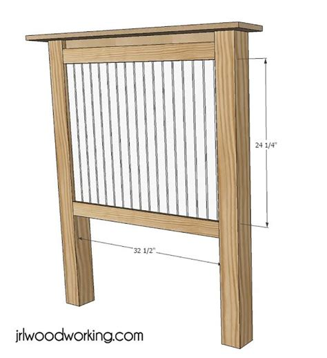 headboard building plans ana white build a twin bed beadboard headboard free