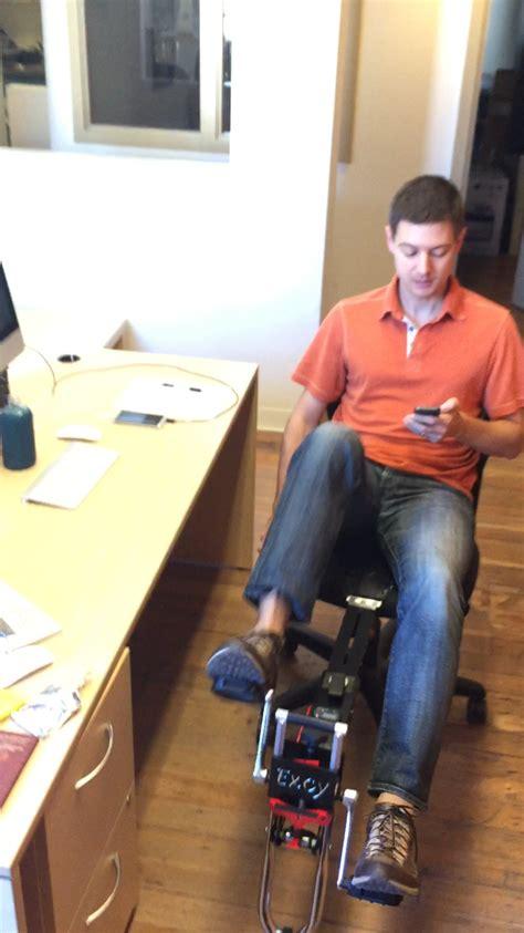 Desk Leg Exerciser by Pedals For Desk Exercise
