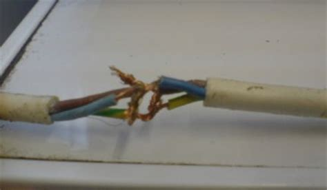 exposed live wire pat testing dangerous items