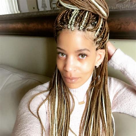 light skinned women with blonde cornrows photos of black women with blond braids