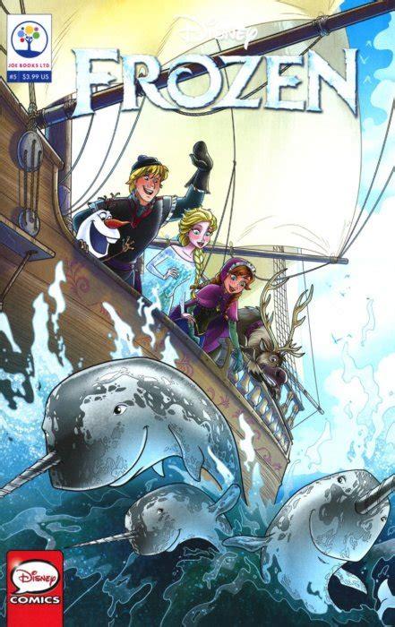 Gaun Frozen 5 Series I Original Brand By Meisha Kebaya By Mira Jaya disney s frozen 5 joe books comicbookrealm