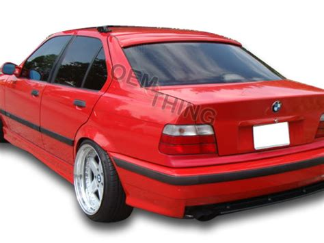 find painted bmw e36 3 series 4d sedan a type rear roof spoiler wing 98 668 motorcycle in made
