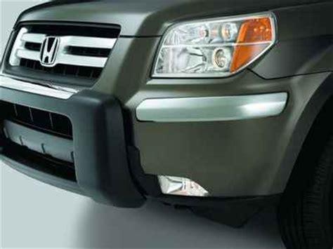 Garnish Bumper Belakang Chrome Honda Brv honda pilot chrome bumper garnish