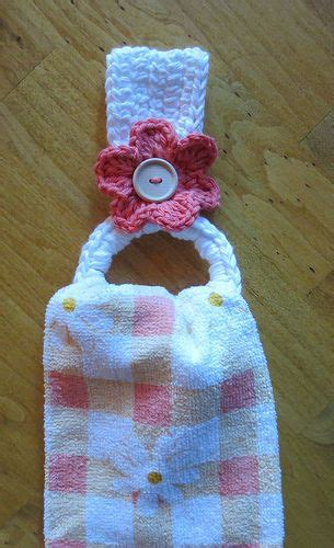 pattern for towel holder crocheted towel holder with recycled plastic drink ring