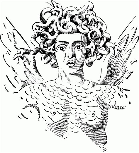 medusa coloring pages medusa coloring page coloring home
