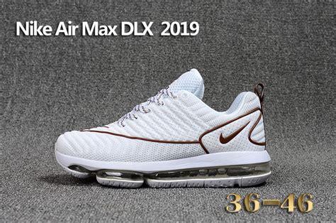 Nike Airmax Lunar Brown Size 37 40 new designer nike air max dlx 2019 white brown 849559 008