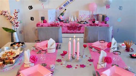 cuisine the brilliant decoration table anniversaire
