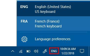windows reset password shortcut how to change input language using keyboard shortcut in