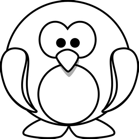 cartoon penguins coloring pages coloring pages