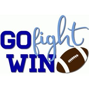 How To Win And Go To by Silhouette Design Store View Design 95696 Go Fight Win