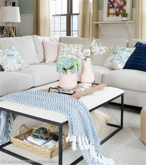 white pink living room blue pink living room decorating ideas four generations one roof
