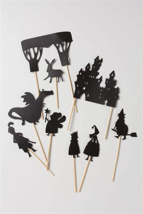 How To Make Shadow Puppets With Paper - paper shadow puppets paper cut fold