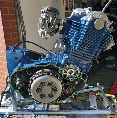 Motorrad Yamaha Sr 500 by Yamaha Sr 500 Caf 233 Racer Eigenbau Kradblatt
