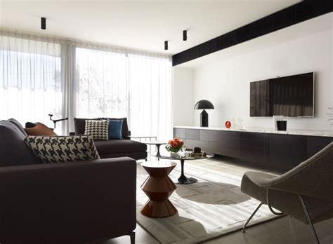 interior design apartment sydney extra long console room design by greg natale sydney
