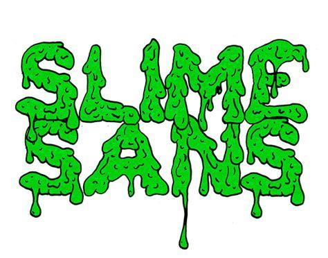 printable melting font slime sans typeface on sva portfolios