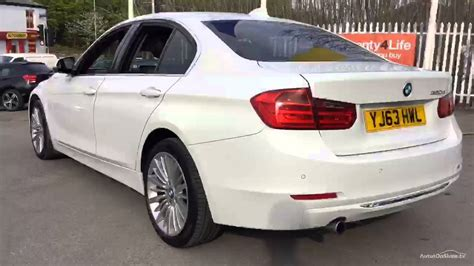 2013 bmw 3 series white bmw 3 series 320d luxury white 2013