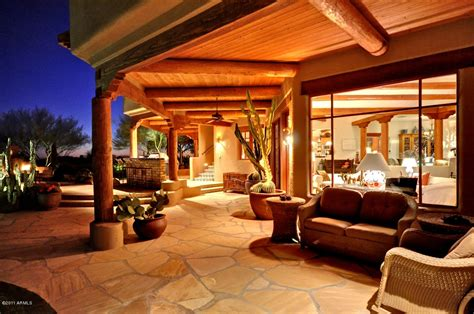 santa fe style home architectural styles of arizona real estate scottsdale