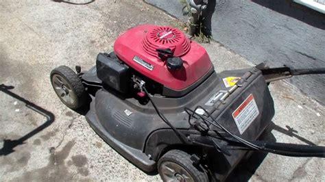 honda hrb lawn mower repair blade clutch alameda repair shop youtube