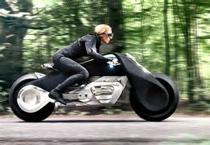 bmw motorcycle concept looks far ahead with