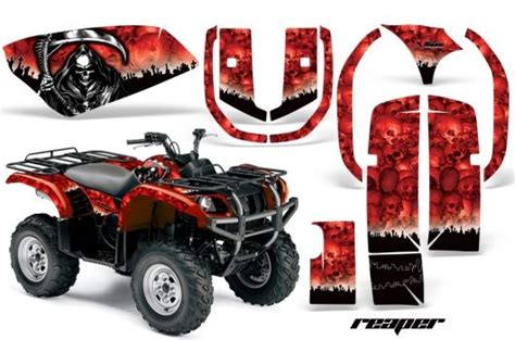 Yamaha Quad Sticker Kits by Yamaha Quad Graphic Sticker Decal Kit For Grizzly 600 Atv