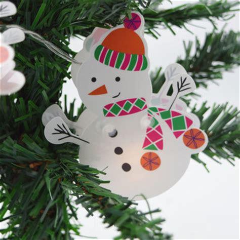 snowman light snowman led string light hanging garland