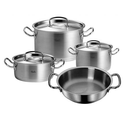 Fissler Profi Collection Set by Fissler Original Profi Collection Topf Set 4 Tlg
