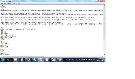 cara membuat form html notepad my stories cara membuat html pada notepad