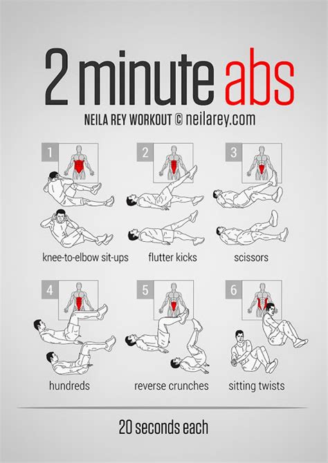 2 minute ab workout pdf http darebee workouts