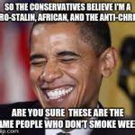 Pro Obama Memes - laughing obama meme generator imgflip