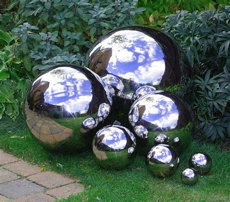gazing globes stainless steel garden globes