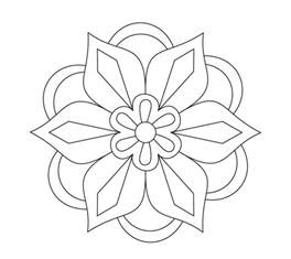 Rangoli Designs Printable Coloring Pages printable rangoli coloring pages coloring me